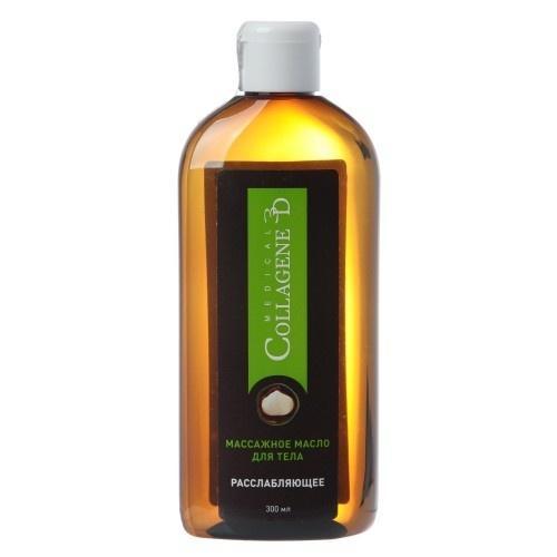 Collagene 3D Масло массажное для тела Расслабляющее 300 мл (Ideal Body)
