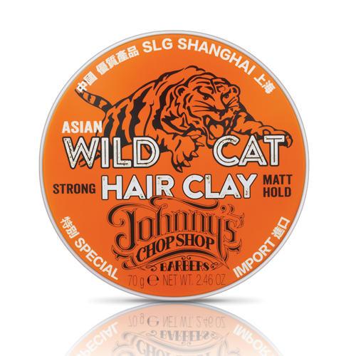Глина для устойчивой фиксации волос 70 гр. (Johnnys Chop Shop, Style) chop chop chop chop clay pomegranate 50 ml