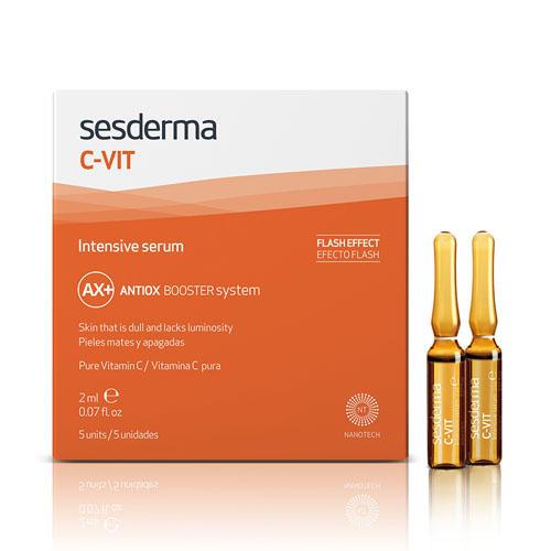 Интенсивная сыворотка 12 СVit, 5 шт. по 2 мл (Sesderma, CVit) химические пилинги реклама