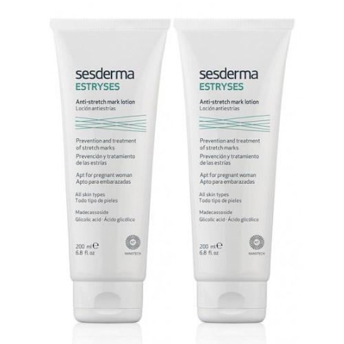 Лосьон против растяжек 200 мл х 2 шт (Sesderma, Estryses) крема против растяжек для подростков