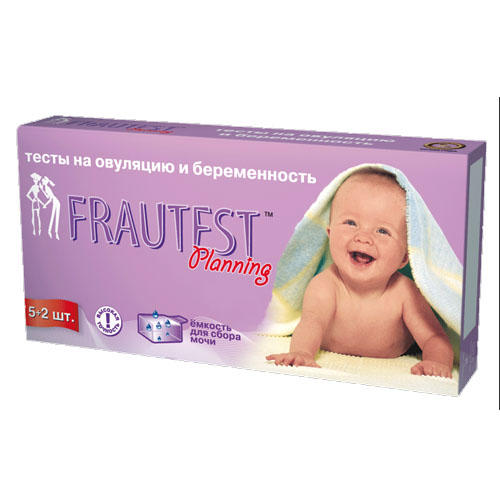 Тест Frautest Planning тестполоска (52) на овуляцию и беременность (Frautest, Test) тест frautest на овуляцию n5 frautest test