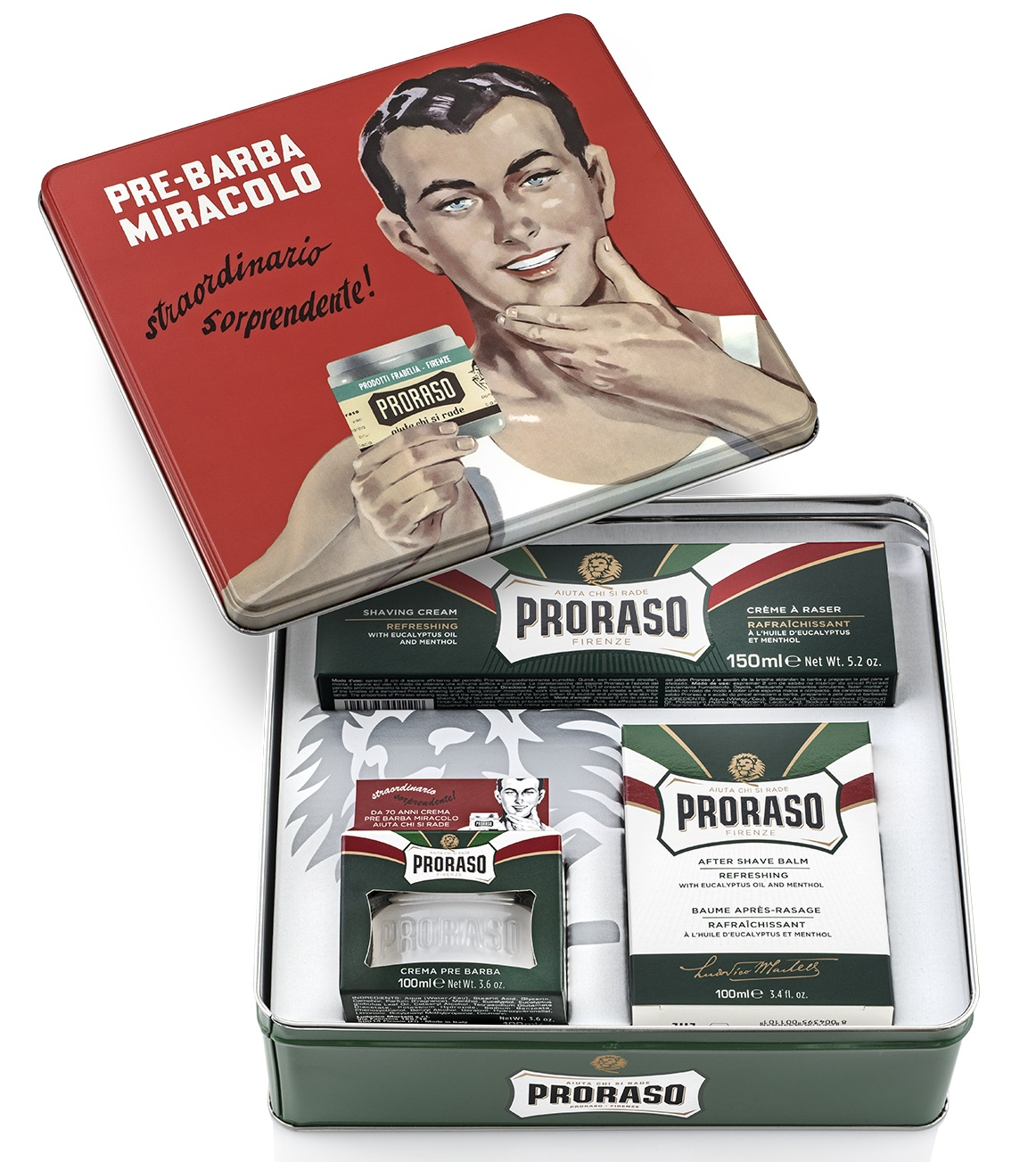 Proraso Набор для бритья GINO (Proraso, Для бритья)