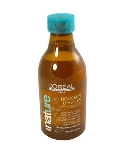 Мягкость Масел Шампунь для разглаживания непослушных волос 250 мл (Loreal Professionnel, Serie Nature)