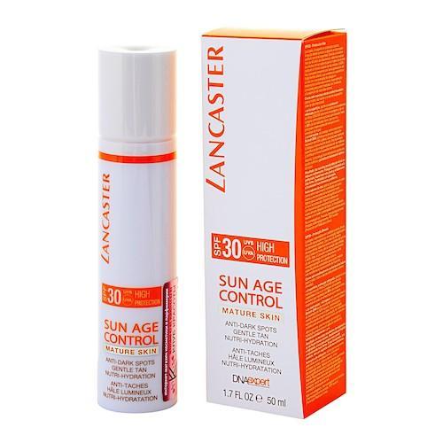 Антивозрастное молочко сияющий загар для тела против пигментных пятен для чувствствительной кожи SPF (Sun Control)