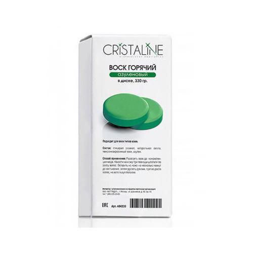 Cristaline Горячий азуленовый воск в диске 330 г (Воск)