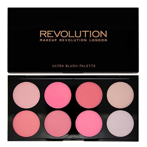 Палетка румян и корректоров Blush Contour Palette, All about Pink (Makeup Revolution, Лицо) цены онлайн