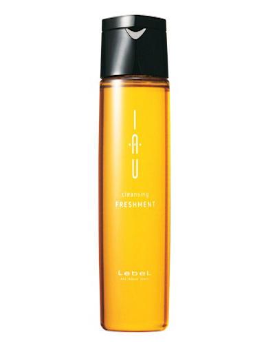 Охлаждающий аромашампунь для жирной кожи головы 200 мл (Lebel, IAU Infinity Aurum) блеск кожи головы