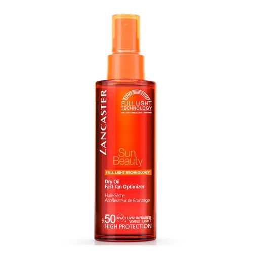 Sun Ultra Tanning Шелковистое масло быстрый загар SPF50, 150 мл (Lancaster, Sun Beauty) lancaster lancaster успокаивающее молочко постепенный загар spf50 125 мл
