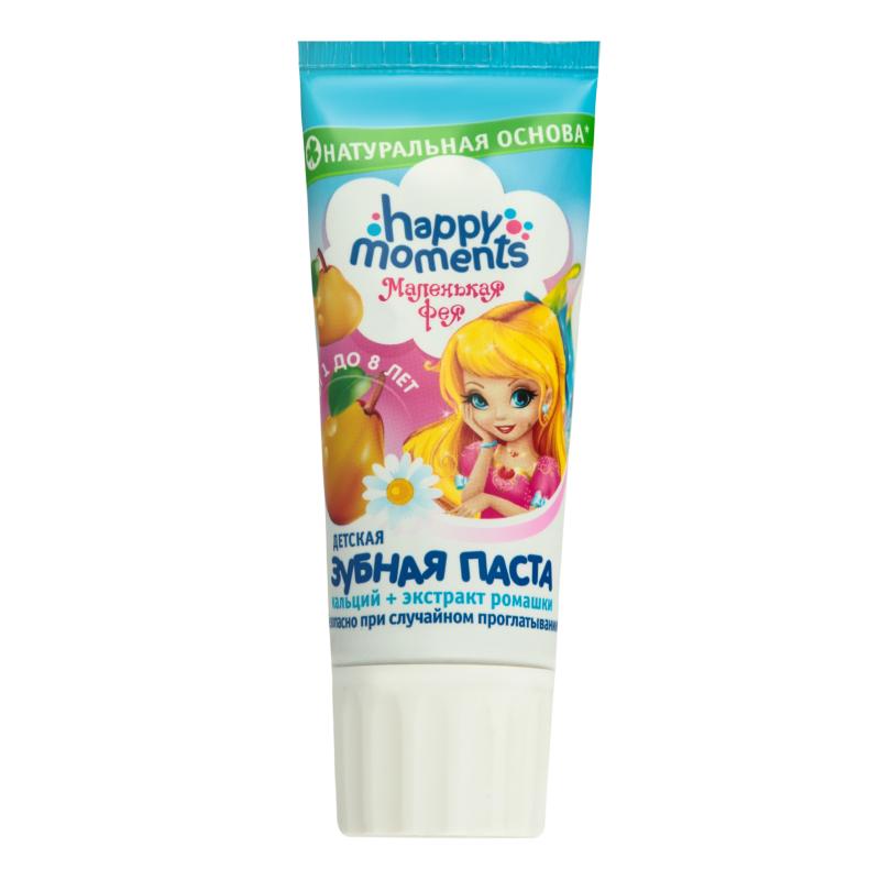 Маленькая фея Зубная паста Жемчужная улыбка волшебный фрукт 60 мл (Маленькая фея Гигиена полости рта).