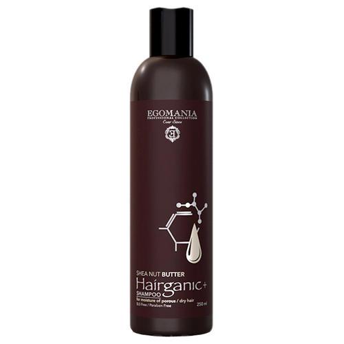 цены Шампунь с маслом ши для увлажнения пористых, сухих волос 250 мл (Egomania Professional, Shea Nut Butter)