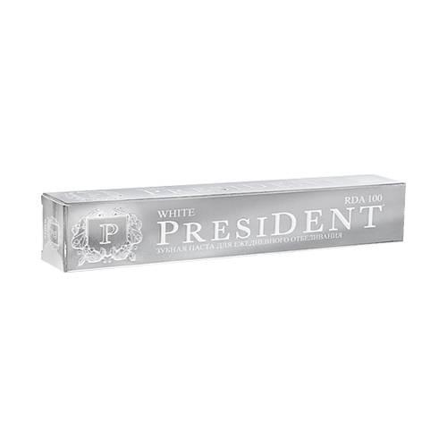 Купить President Отбеливающая зубная паста, 50 мл (President, White), Италия