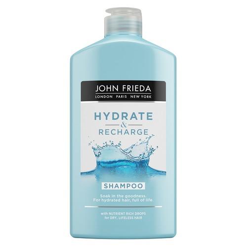 Купить John Frieda Шампунь для увлажнения и питания волос 250 мл (John Frieda, Hydrate&Recharge), Великобритания