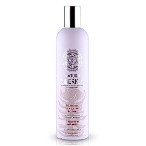 Купить Natura Siberica Бальзам для сухих волос Защита и питание 400 мл (Natura Siberica, Био-уход за волосами), Россия