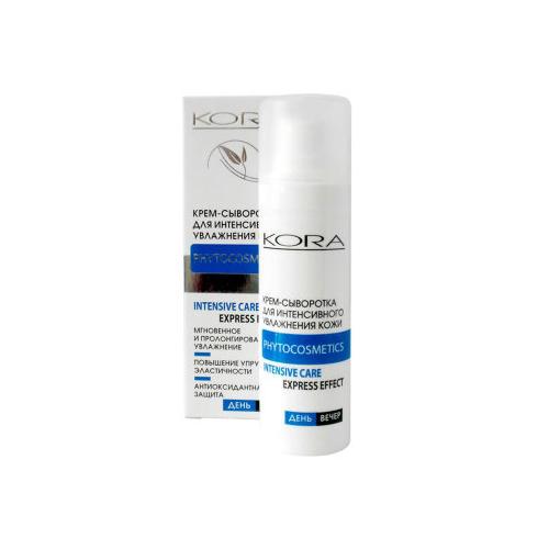 КОРА Крем-сыворотка для интенсивного увлажнения обезвоженной кожи 30 мл (Увлажнение кожи)