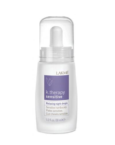 Ночное успокаивающее средство для чувствительной кожи головы и волос 30 мл (Lakme, K.Therapy) средство для лечения волос и кожи головы