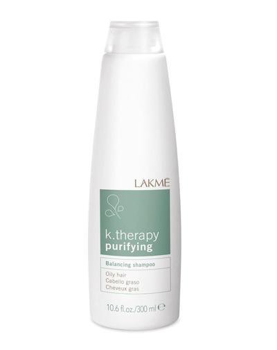 Lakme Balancing shampoo oily hair Шампунь восстанавливающий баланс для жирных волос 300 мл (Lakme, K.Therapy) фото