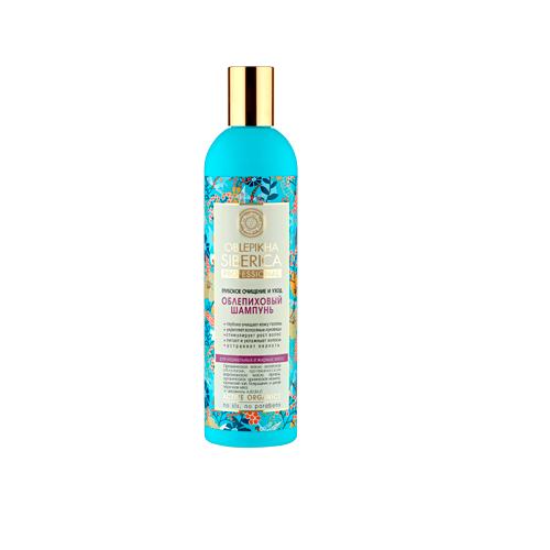 Шампунь облепиховый Глубокое очищение и уход для нормальный и жирных волос 400 мл (Natura Siberica, Oblepikha Siberica)