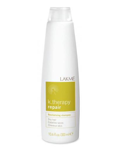 Купить Lakme Revitalizing shampoo dry hair Шампунь восстанавливающий для сухих волос 300 мл (Lakme, K.Therapy), Испания