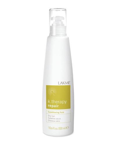 Conditioning fluid dry hair Флюид восстанавливающий для сухих волос 300 мл (Lakme, K.Therapy) флюид c ehko keratin farbglanz hair fluid 7 10 мл