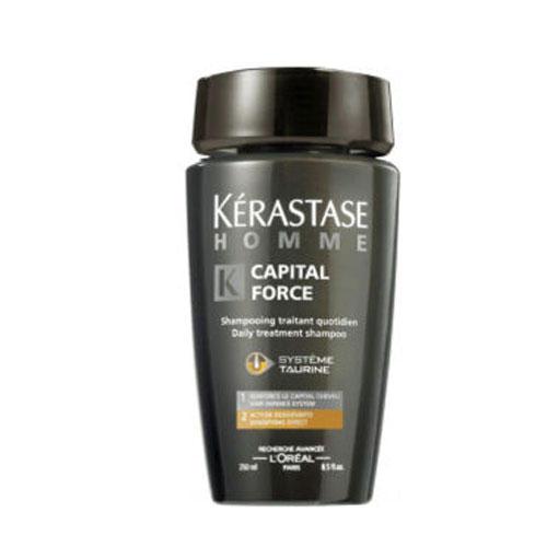 Шампунь Капитал Форс для уплотнения волос 250 мл (Kerastase, Homme) kerastase force architecte