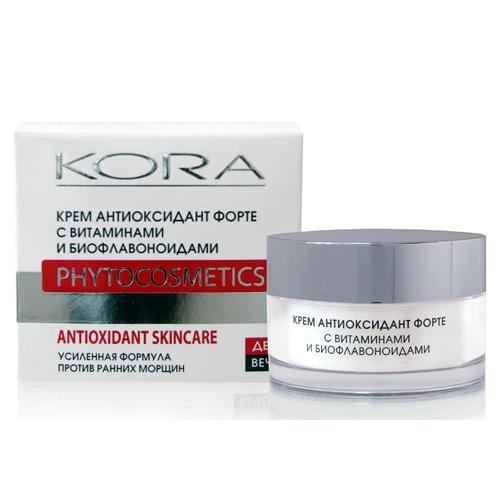 КОРА Крем Антиоксидант форте с витаминами и биофлавоноидами 50 мл (КОРА, Питание и защита)
