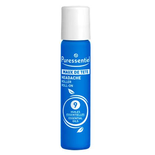 Puressentiel Роллер успокаивающий для снятия напряжения и облегчения стресса 9 эфирных масел, 5 мл (Puressentiel)