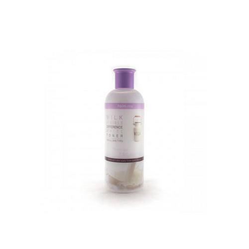 Увлажняющий и осветляющий тонер с экстрактом молока 350мл (Farmstay, Для лица) для лица лед из молока