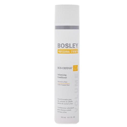 Bosley Кондиционер для объема нормальных/тонких окрашенных волос 300 мл (Bosley, BosDefense)