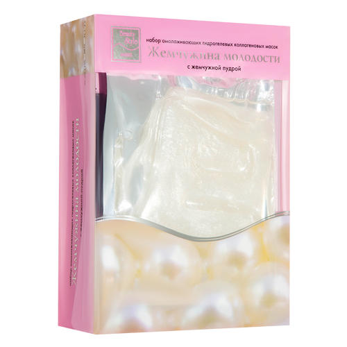 Beauty Style Коллагеновая гидрогелевая маска Жемчужина молодости (Гидрогелевые коллагеновые маски)