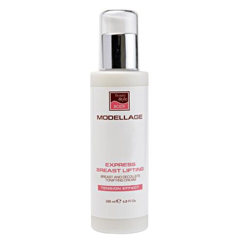 Крем для бюста и зоны декольте, тонизирующий эффект Экспресслифтинг 200 мл (Beauty Style, Modellage)