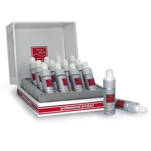 Сыворотока с гиалуроновой кислотой 12 ампул х 5 мл (Beauty Style, Professional product)