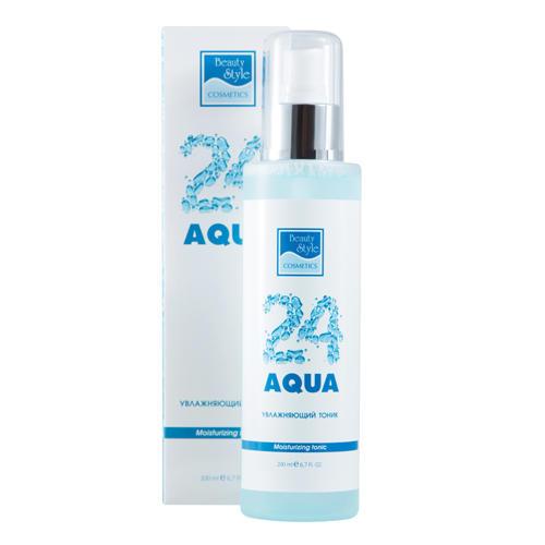 Увлажняющий тоник Аква 24, 200 мл (Beauty Style, Aqua 24) увлажняющая пенка для демакияжа аква 24 beauty style