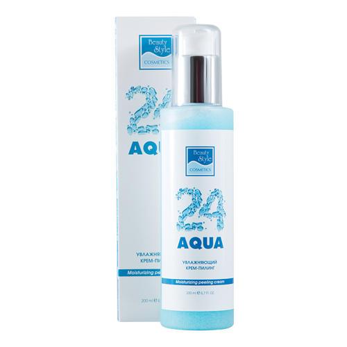 Beauty Style Увлажняющий крем-скраб  Аква 24, 200 мл (Aqua 24)