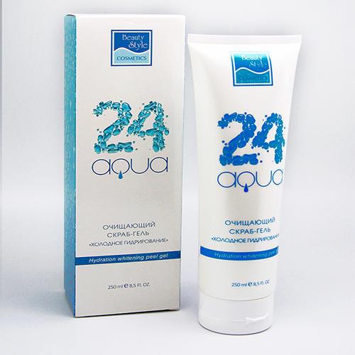 Beauty Style Очищающий пилинг-гель  холодное гидрирование Аква 24, 250 мл (Aqua 24)