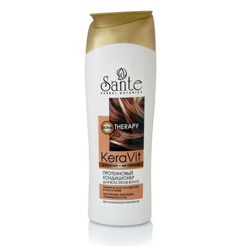 Протеиновый кондиционер для всех типов волос 400 мл (Средства для волос) (Sante)