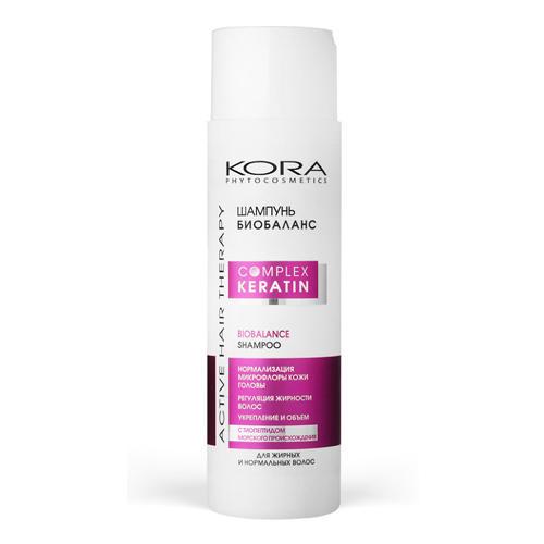 Купить КОРА Шампунь биобаланс для жирных и нормальных волос 250 мл (КОРА, Уход за волосами), Россия