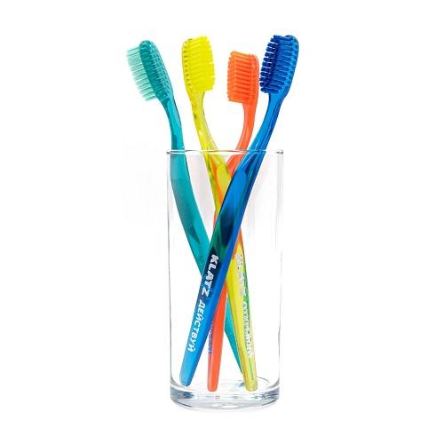 Klatz Щетка зубная для взрослых средняя 1 шт (Klatz, Зубные щетки), Россия  - Купить