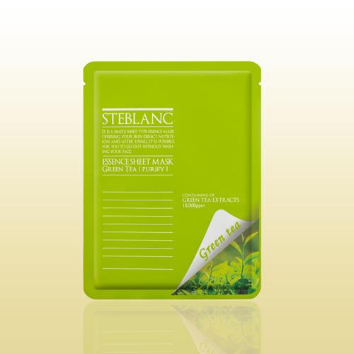 Очищающая маска для лица с экстрактом зеленого чая 20 мл (Mask) (Steblanc)
