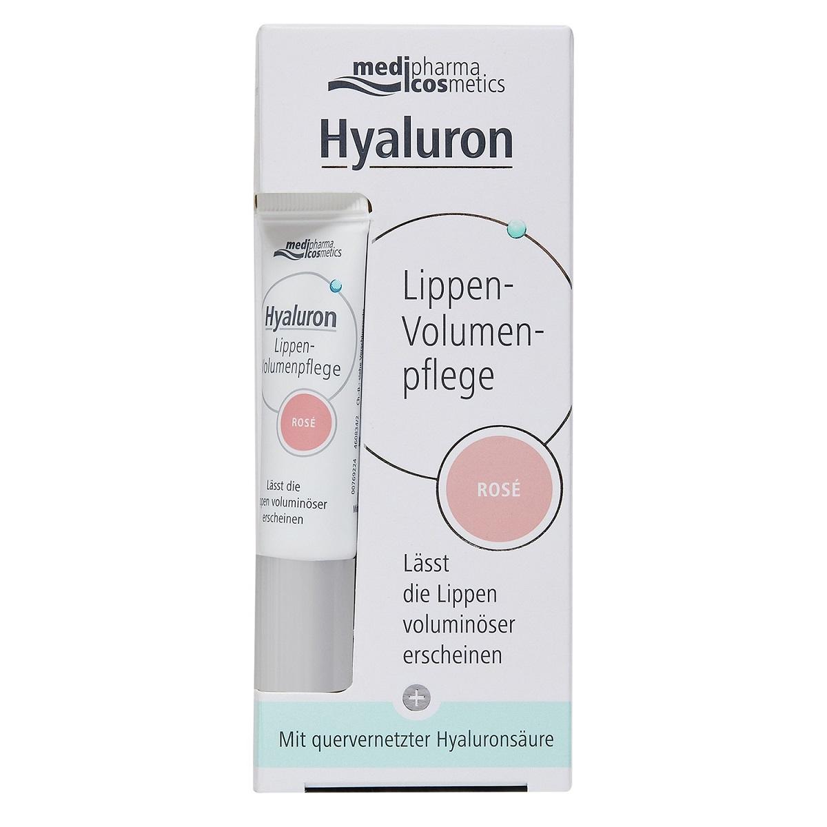 Купить Medipharma Cosmetics Бальзам для объема губ розовый, 7 мл (Medipharma Cosmetics, Pharma Hyaluron), Германия