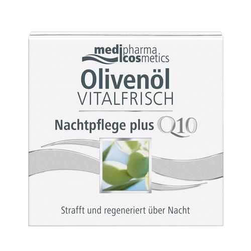 Купить Medipharma Cosmetics Ночной крем для лица против морщин Olivenol Vitalfrisch, 50 мл (Medipharma Cosmetics, Olivenol), Германия