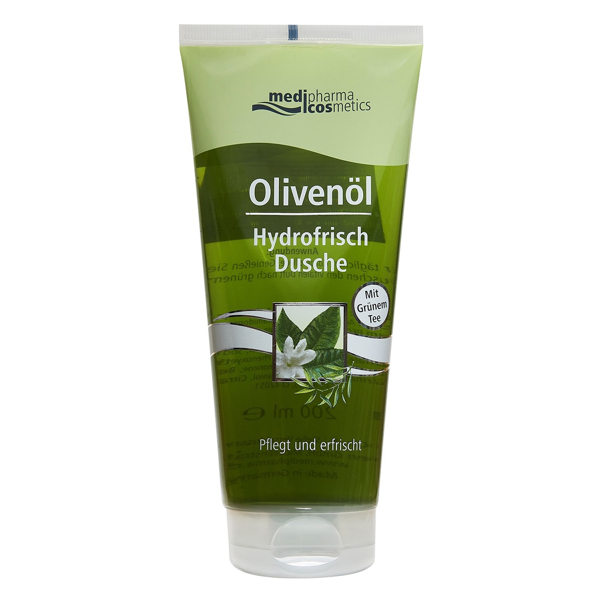 Medipharma Cosmetics Гель для душа Зеленый чай 200 мл (Medipharma Cosmetics, Olivenol) medipharma cosmetics гель для