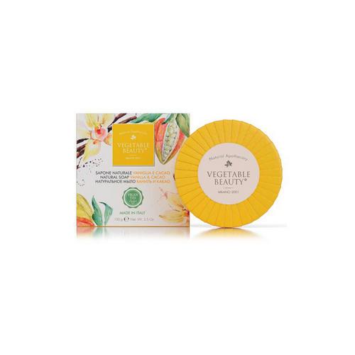 Купить Vegetable beauty Натуральное мыло Ваниль и какао 100 г (Vegetable beauty, Мыло), Италия