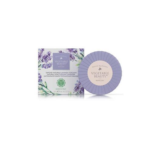 Vegetable beauty Натуральное мыло Тосканская лаванда 100 г (Vegetable beauty, Мыло) фото