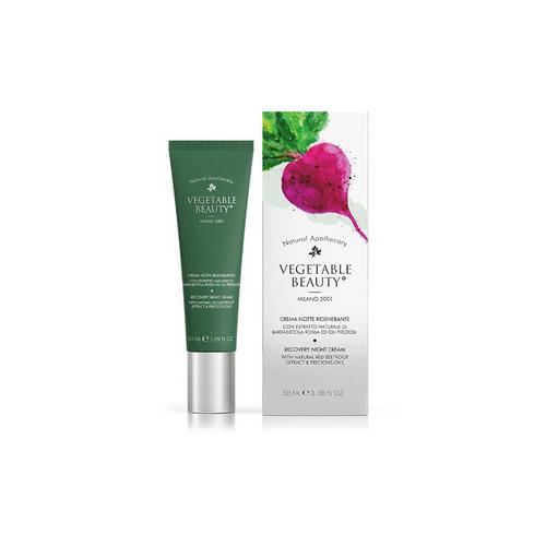 Купить Vegetable beauty Восстанавливающий ночной крем для лица с экстрактом свеклы и комплексом драгоценных масел 50 мл (Vegetable beauty, Для лица), Италия
