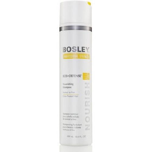 Bosley Шампунь питательный для нормальных/тонких окрашенных волос 300 мл (Bosley, BosDefense)