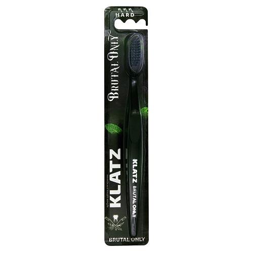Klatz Щетка зубная для взрослых жесткая 1 шт (Klatz, Brutal only) фото