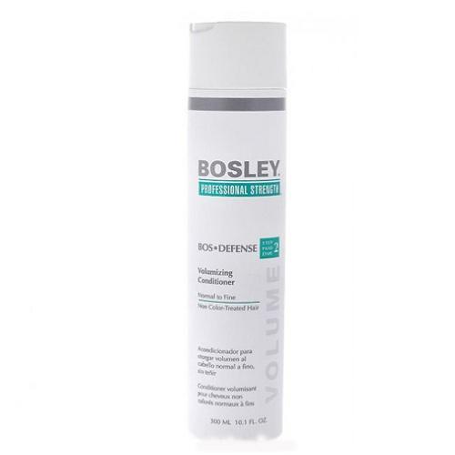 Bosley Кондиционер для объема нормальных/тонких неокрашенных волос 300 мл (Bosley, BosDefense)