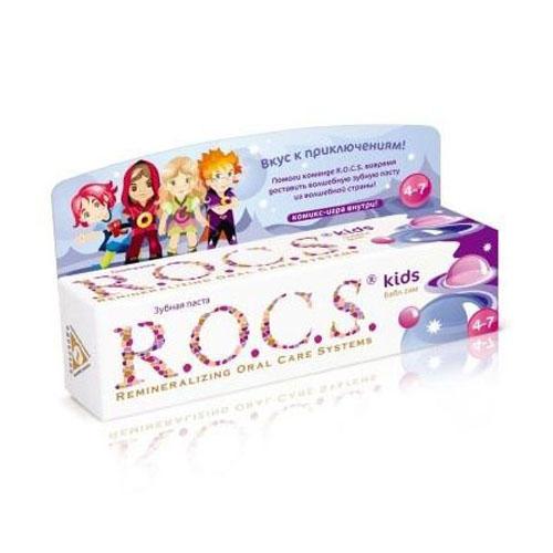 R.O.C.S Зубная паста Рокс Бабл Гам (Kids 3-7 years)