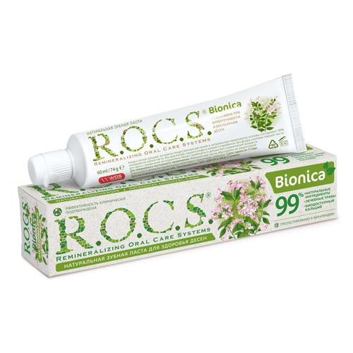 Купить R.O.C.S. Зубная паста Бионика Зелёная страна 74 гр. (R.O.C.S., Для Взрослых), Россия