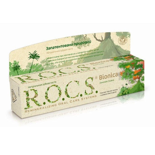 R.O.C.S Зубная паста Бионика Зелёная страна 74 гр. (Для Взрослых)